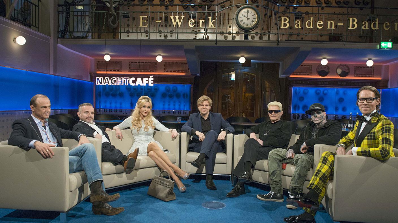 "Peter Brownbill zu Gast in der Talkshow ""Nachtcafé"""