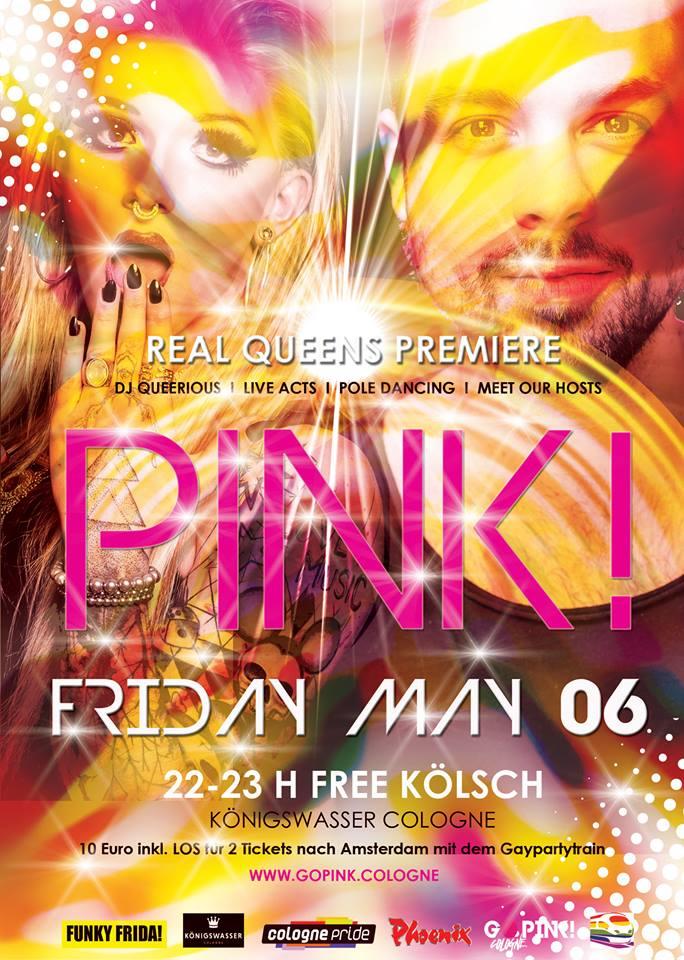 Peter Gatzweiler für Go Pink Cologne Party gebucht