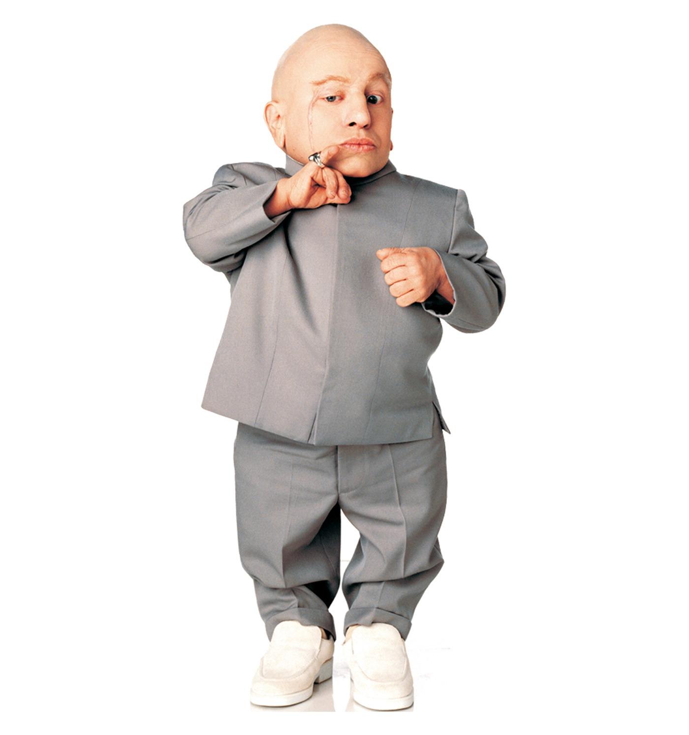 Peter Brownbill spielt Mini-Me