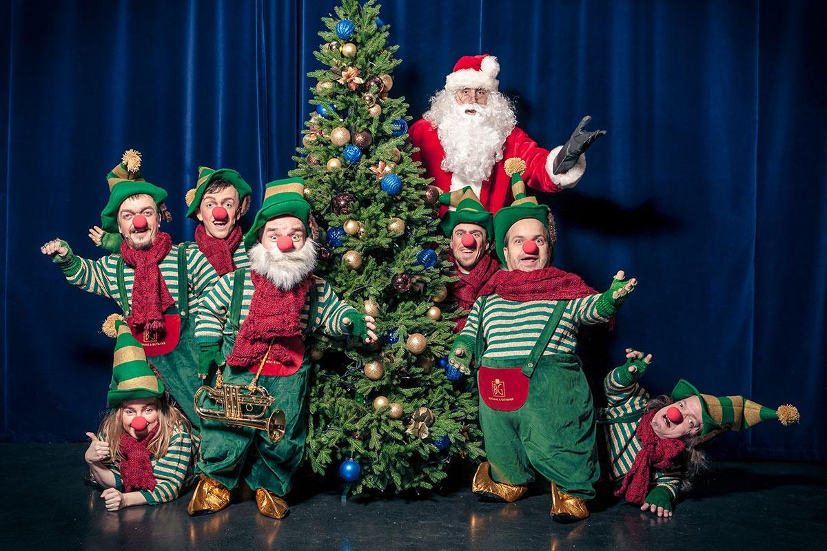 Weihnachtswichtel beglückt Kinder