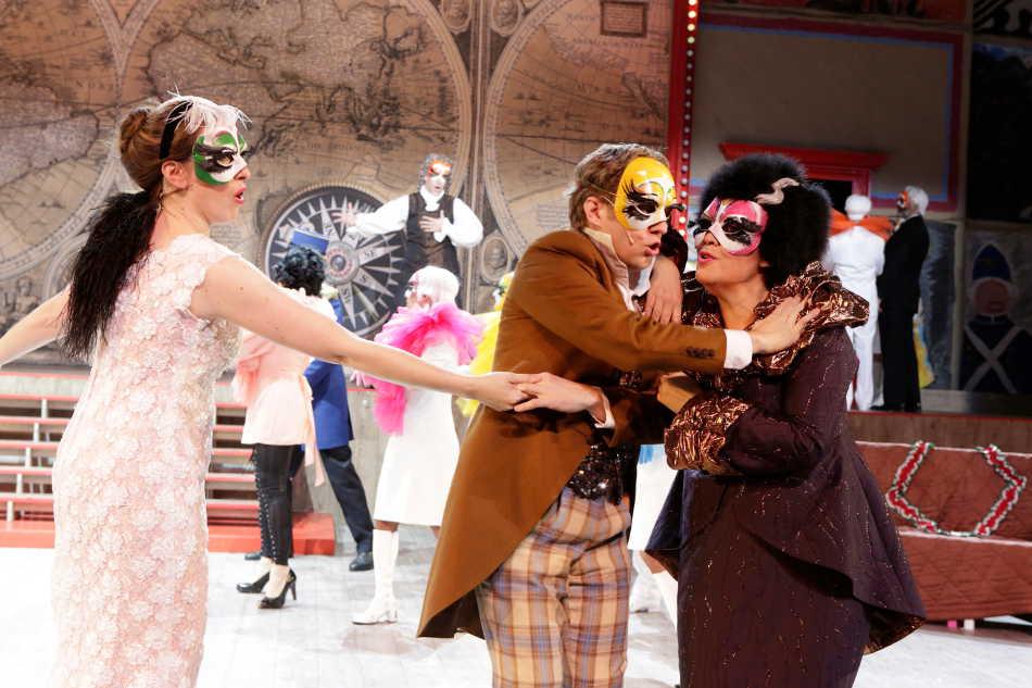 Heute spielt wieder die Oper Candide