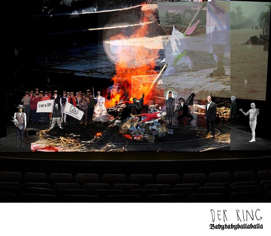 Frank Ramierz steht heute wieder auf der Bühne vom Theater Trier