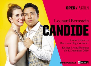Cihan spielt in der Oper Candide