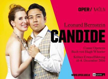 Letzte Vorstellung von der Oper Candide