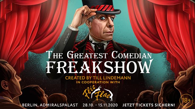 the greatest comedian freakshow