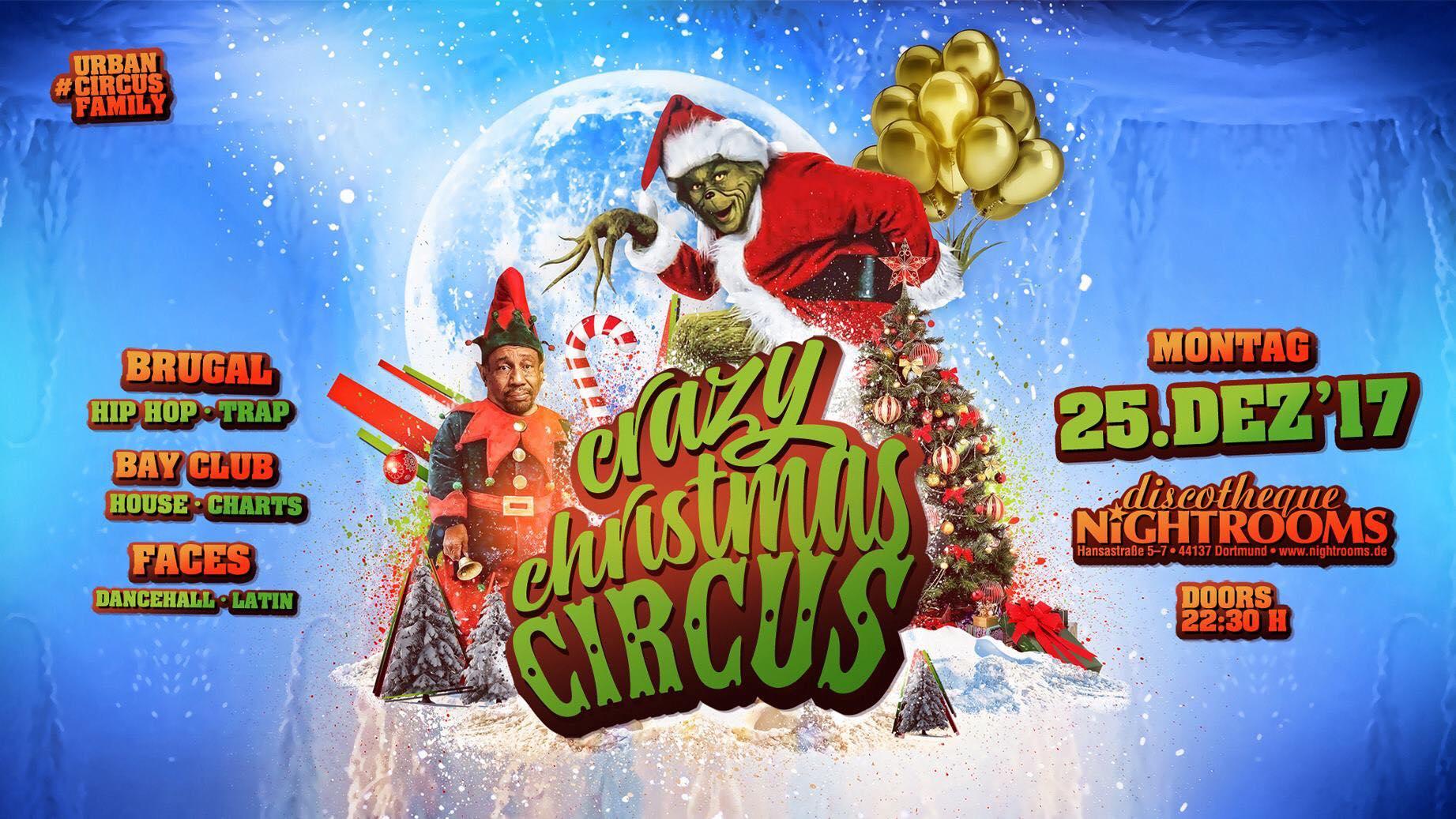Der kleinwüchsige Schauspieler Peter Brownbill ist heute für den Crazy Chrismas Circus in dem Dortmunder Club Nightrooms als Walk Act gebucht.